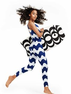 The Marimekko for Target collection will include adorable swim leggings