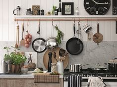 Load of fab kitchenwear to make me feel at home French Kitchen, Rustic Kitchen, Kitchen Dining, Kitchen Decor, Kitchen Stuff, Kitchen Ideas, M And S Home, My Ideal Home, Home Board