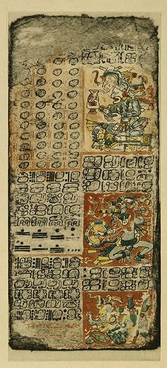 Dresden Codecs: Mayan writings that help us understand about the origins and belief. #Alma's LDS Tours in Cancun
