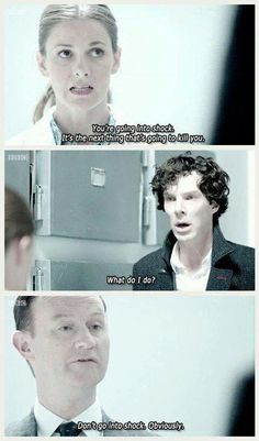 Ah Mycroft, ever the helpful sibling