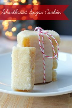 Holiday Cookie Recipe | Shortbread Sugar Cookies