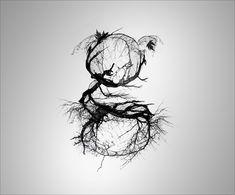 letter g organic shape