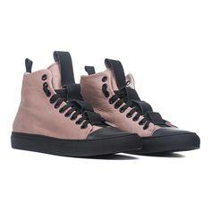 YLATI // Sorrento High-Top Sneaker // Cream (Euro: 41)