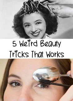 Incredible!! Find out 5 Weird Beauty Tricks That Works. I know that will strange for you, but if you try them you will notice that it really works.