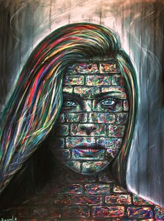 Imprisoned - Original art print on paper or canvas by SamuelHagaPainter on Etsy