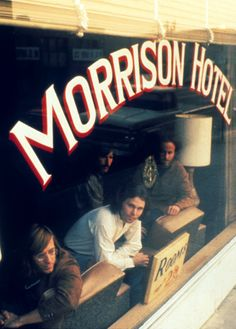 The Doors - Morrison Hotel, photographed by Henry Biltz, Morrison Hotel, Jimmy Morrison, Blues Rock, Pop Rock, Rock N Roll, Sound Of Music, Music Is Life, Beatles, Heavy Metal
