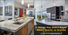 Granite Versus Quartz Countertops – Advice For Better Kitchen Design