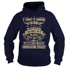 COMMUNICATIONS-SPECIALIST T-Shirts, Hoodies (35.99$ ==► Order Here!)