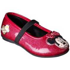 Toddler Girl's Minnie Ballet - Red