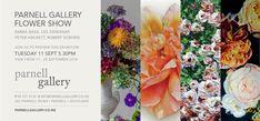 Invite, Invitations, 25 September, Flower Show, Artist At Work, Art Boards, Gallery, Floral, Flowers