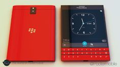 BlackBerry Passport in Red, Blue, White/Gold and All Black -