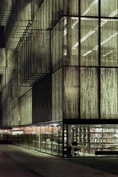 Wiel Arets – Utrecht Universitesi Kütüphanesi