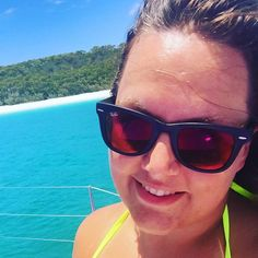 Behind me is Whitehaven Beach it has 98% pure sand so I did not dare bring my camera or phone in case the sand got into one of them! Amazing beach! #camairasailing #whitehavenbeach #whitehaven #sailing #sailboat #whitsundayislands #sea #beach #ehite #sky #nature #amazing #australia #queensland #qld #thisisqueensland #downunder #vacation #varm #sun by _2bcathy_