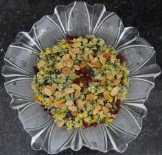 Moroccan Style Millet Salad/Gluten-Free - Bake Free - EN