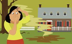 Does your home or backyard smell like sewage? Septic tank problems are probably to blame. Homeowners with on-site septic tank systems will occasionally encounter problems that cause foul stenches leaking into their homes.