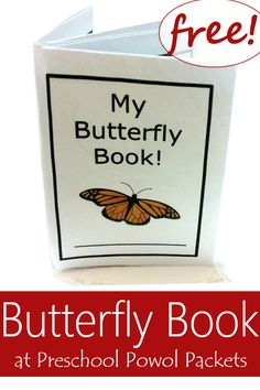 Adorable butterfly book shows the life cycle of butterflies in coloring book style pictures. Sparse text makes for an easy reader or easy memorizer and coloring makes excellent fine motor exercise! Perfect for an insect or butterfly theme, science extension, or more! Designed for preschool, kindergarten, and 1st grade!