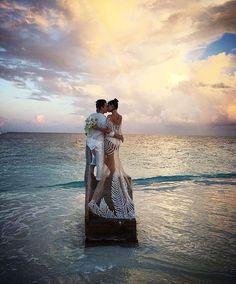 Isabeli Fontana on her wedding day. #amazing #wedding #dreamwedding #beautiful…