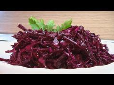 Салат из красной капусты - video