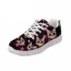 c56d11e09b64 Cheap flats for women, Buy Quality shoes flats directly from China flat  shoes Suppliers: FORUDESIGNS Autumn Women Casual Flat Shoes Cute Animal Cat  Pattern ...