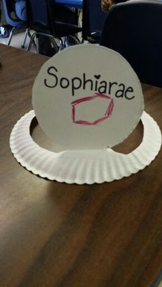 Paper plate hats