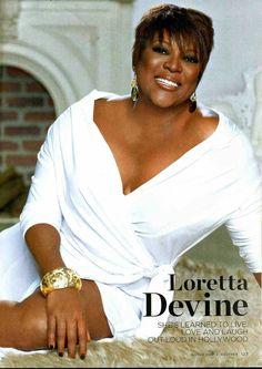 Love the look Beautiful Black Women, Beautiful People, Loretta Devine, The Cosby Show, Fierce Women, Coloured Girls, Act Like A Lady, Black Actresses, Female Hero