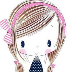 All about surface pattern ,textiles and graphics: Happy Birthday Nellie .My not so little girl is 16 today Ellie is her name love you xx Illustration Girl, Cute Images, Surface Pattern, Cute Cartoon, Cute Drawings, Cute Art, Little Girls, Character Design, Sketches
