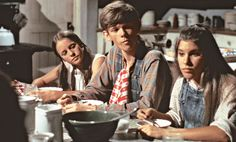 Three of the seven Walton Children from left to right, Erin (Mary Beth McDonough), Jason (Jon Walmsley), and Mary-Ellen (Judy Norton). John Boy, Family Show, Tv Land, Alter, Tv Series, Humor, Couple Photos, Film, American