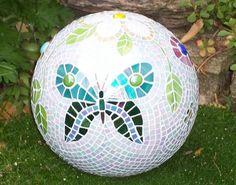 Recycle Bowling Balls Into Mosaic Garden Art! | DIY for Life