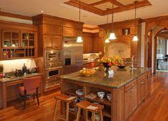 Kitchen Cabinet Paint Color Combinations | Kitchen Paint Color Ideas with Oak Cabinets