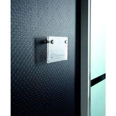 Papier peint noir faux unis : Crossed Noir métallisé - papier peint Architects Paper - Papier peint chambre, entrée, pièce à vivre contemporain, Design