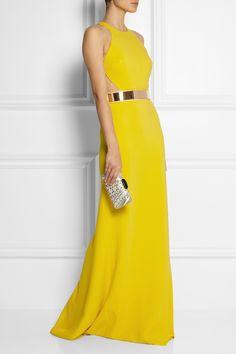 Stella McCartney   Saskia stretch-cady gown   NET-A-PORTER.COM