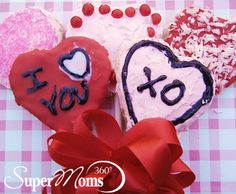 Cupid's Cookie Pops - Play Cupid this year with this easy Valentine's Day recipe for kids and adults alike. Tags: Valentine's Day Recipes | Valentine's Day Treats | Valentine's Day Desserts | Valentine's Day Cookie | Valentine's Recipes | Valentine's Treats | Valentine's Desserts | Valentine's Cookie