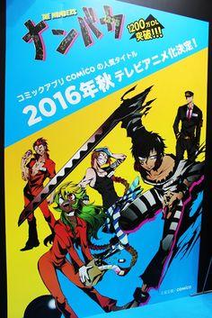 El Anime Nanbaka será para televisión y se estrenará en Otoño del 2016.