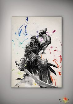 World of Warcraft Watercolor illustrations Art Print 8x10 11x16 Wall Art Poster Giclee Wall Decor Art Home Decor Wall Hanging Modern Gift A3 on Etsy, 62,50 zł