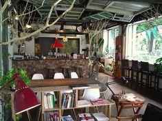 Treeledge  台北市大同區民族西路33號  Cafe, near Yuanshan MRT, Taipei, Taiwan  for the ideology