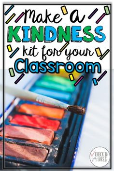 Kindness is a community service at school. Teach your students to spread kindness at school by building a classroom kindness kit! Make an impact on the culture of your school. Community Jobs, School Community, Classroom Community, Community Service, Life Skills Classroom, Teaching Social Skills, Teaching Resources, Classroom Volunteer, Special Education Classroom