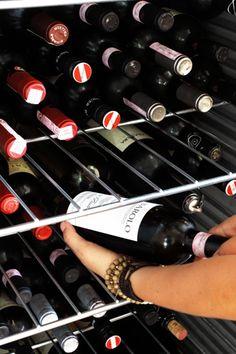 Ein gut gefüllter Weinkeller