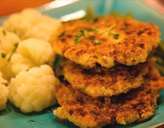 Recipes from around the world...     Matzah Meal & Cottage Cheese Latkes