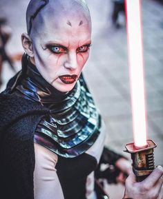 Insane Asajj Ventress cosplay by @miss_sinister.