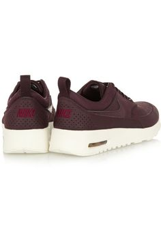 Nike | Air Max Thea Premium leather sneakers | NET-A-PORTER.COM