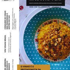 08 – Beba sem Aglomeração | Risoto de abóbora Tofu, Pesto, Oatmeal, Grains, Rice, Breakfast, Spices, Rice Sock, Expensive Wine