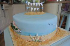 Beach Cake ~ Edible sand ~ St Ives