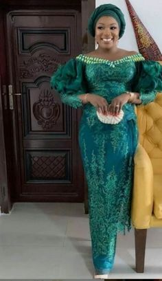 Enchanting aso ebi styles that will inspire you - Opera News Official Nigerian Lace Styles, Aso Ebi Lace Styles, African Lace Styles, Lace Dress Styles, African Lace Dresses, Latest African Fashion Dresses, African Dresses For Women, Ankara Styles, Ankara Long Gown Styles