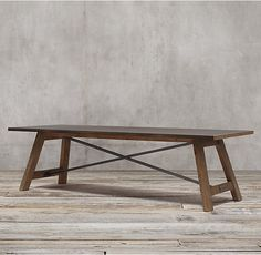 Reclaimed Wood Amp Zinc Top Rectangular Dining Table In 2019