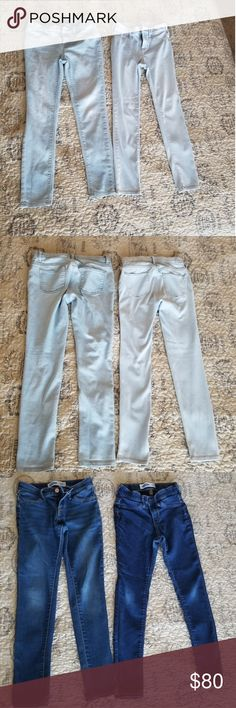 OLD NAVY GIRLS  JEANS BOOTCUT SIZES  0-3 AND 3-6 MONTHS  NWT
