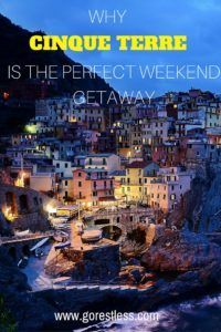Why Cinque Terre is the perfect weekend getaway - Go Restless Romantic Weekend Getaways, Friend Book, Riomaggiore, Walking Routes, Italy Holidays, Going On Holiday, Cloudy Day, Cinque Terre, World Heritage Sites
