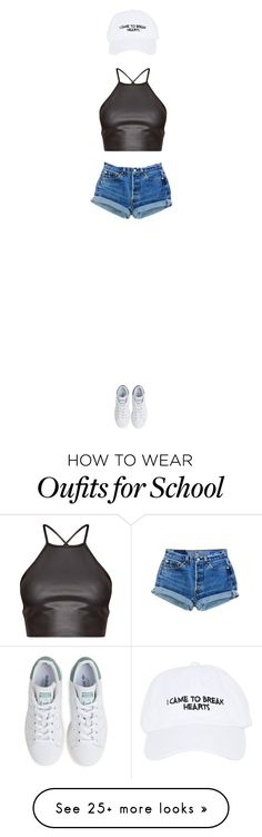 """""""I came here to break hearts and chew bubble gum"""" by disneyfashions13 on Polyvore featuring Nasaseasons and adidas"""