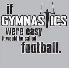 Boys If Gymnastics Were Easy It Would Be Called Football T-Shirt Sports Gymnast on Etsy, $18.00
