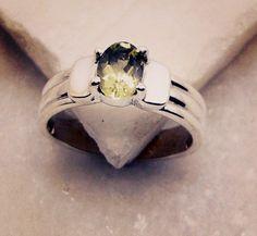 #tanktop #smile #smoothie #accessory #asian #bridesmaidgift #SilverInfinity #ring #silver #gemstone #peridot #handmade #gems #jewelry #riyo #truelove #quantico #jewelryaddict