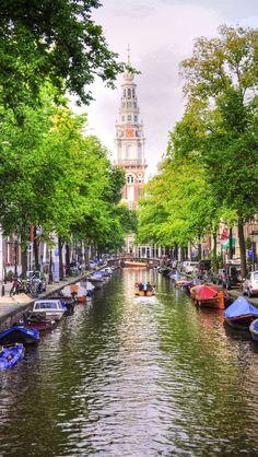Amsterdam Scene, Netherlands